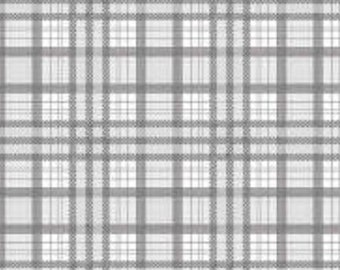 Gray Plaid from Riley Blake Design's J is For Jeep Collection