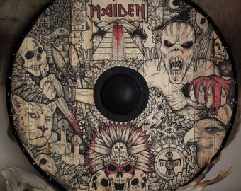 Iron Maiden viking shield fantasy