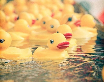 Rubber Ducks carnival art kids bathroom picture vintage fair photography floating fun photography water child room nursery children