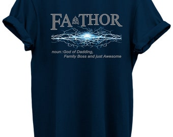 Celebration Awesome Fathers Day Popular Tees Shirt Family Gift Thor Inspired From Daughter and Sons