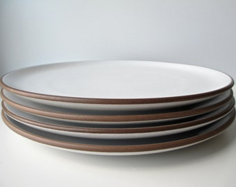 Reserve Listing Vintage Heath Ceramics Dinner Plates Coupe HerVintageCrush & Plates curated by Food52 on Etsy