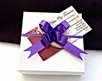 Gift box add on upgrade available with jewelry purchase from Urban City Treasures