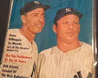 Sport Magazine September 1961 Mickey Mantle Joe Dimaggio
