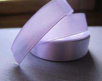 Ribbon satin 15 mm purple