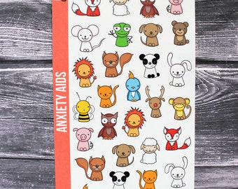 Finger Puppets Planner Stickers