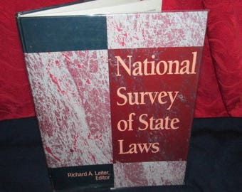 National Survey of State Laws , Richard Leiter, Editor