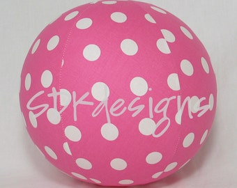 Balloon Ball TOY - Pink Large Polka Dots - Great Birthday gift or party favor