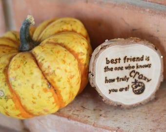 best friend gift best friend birthday gift wooden magnet best friend gift funny best friend gift personalized best friend gift ideas