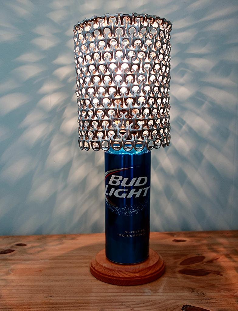 gifts bud on platinum products custom recycled shop beer wanelo goblet candle light best made bottle