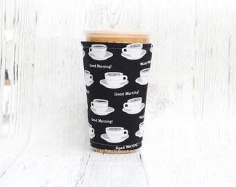 Vereist Tasse gemütlich, Kaffee gemütlich, Geeiste Kaffee, Tasse Ärmel, Kaffee gemütlich, Kaffee Manschette,