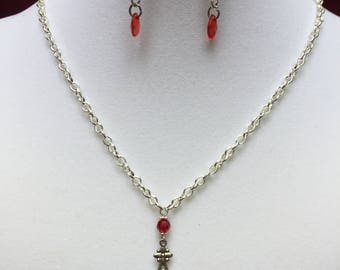Red Charm Neclace