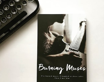 Burning Muses Signed Paperback (3rd ed cover)