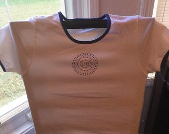 New Ladies XL Cubs Crystal Shirt - Junior Fit