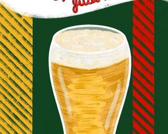 Canadian Beer Print (Digital Download)