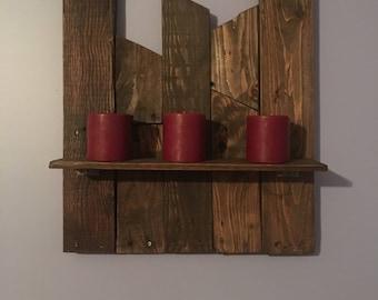 Custom Shelves - Pallet Wood Sign