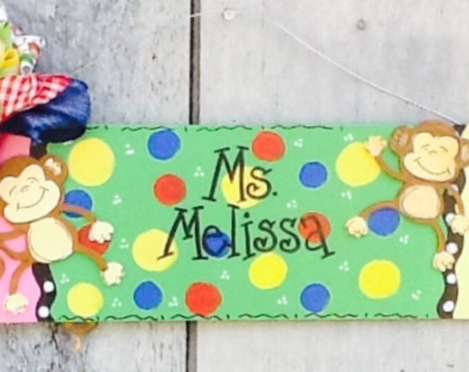 Teacher door sign, teacher door hanger, pencil door hanger, pencil door sign, classroom door sign, classroom door hanger