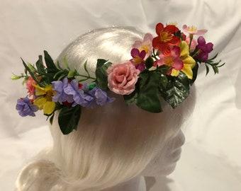 Colorful Wildflower Crown