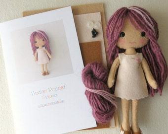 Pocket Poppet Kit - Petunia
