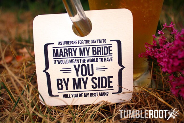 3 adorable will you be my groomsman wedding zoom junglespirit Choice Image