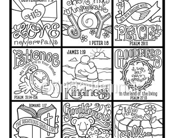 Ask Seek Knock coloring page in two sizes: 8.5X11 Bible