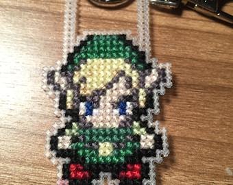 The Legend Of Zelda, Link Cross Stitch