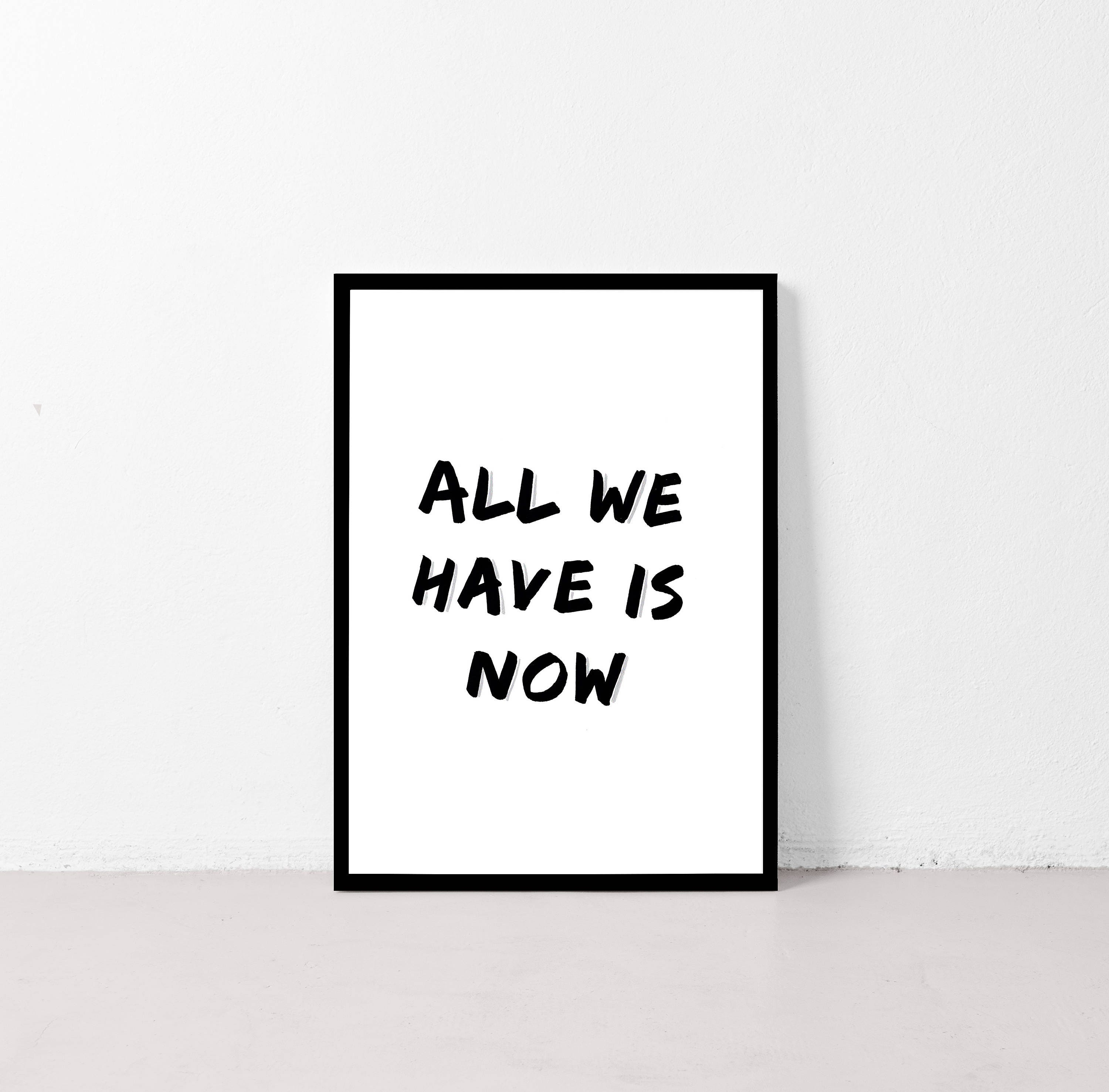 Wall Art Inspiration Motivation Inspirational Quote Typography