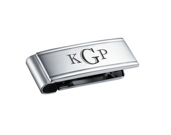 Personalized Stainless Steel Money Clip Engraved Free, Personalized Money Clip - Engraved money clip - Custom Engraved Money clip
