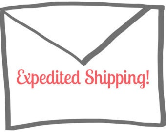 add on expedited shipping to any order
