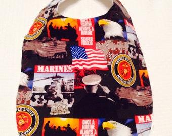 Marine Baby Bib