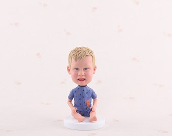 Personalized bobble head,unique baby bobblehead, custom bobblehead gift for baby