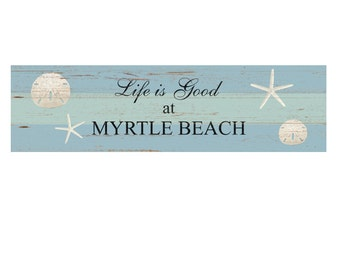 Personalized Beach Sign