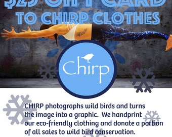 25 Dollar Gift Certificate to Chirp Clothes