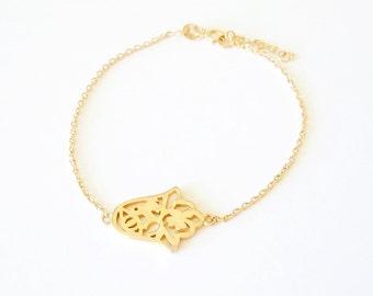 Lucky Hamsa Hand Bracelet