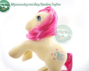 Truly Vintage My Little Pony So Soft Earth Pony 1980s Toy by Hasbro