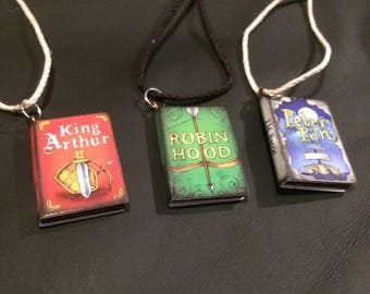 Story book necklaces