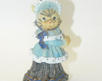 The Victorian Collection - Abigail Whiskers -1993 - Resin Cat - CLEARANCE SALE