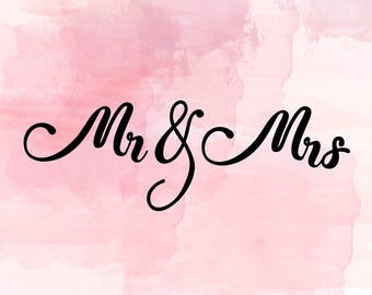mr and mrs svg, mr and mrs cut file, wedding svg, wedding cut file, couple svg cut file,mr&mrs svg cut file, mr and mrs vinyl heat transfer