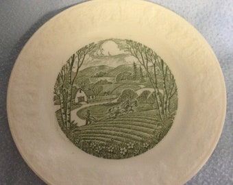 Vintage Taylor Smith & Taylor porcelain plate
