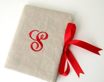 Personalized Photo Album, Monogram Photo Album, Personalized Wedding Album, 4X6 photo album, Personalized Gift for Women, Letter S