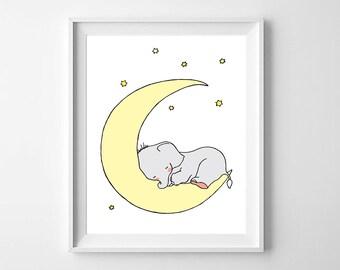 Elephant Nursery Art,Printable Nursery,Elephant baby Room,Elephant Boys Nursery, Elephant Girls Nursery,Elephant Nursery Decor,Elephant