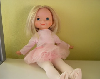 Vintage Fisher Price My Friend Mandy Doll in Ballerina Outfit 1981