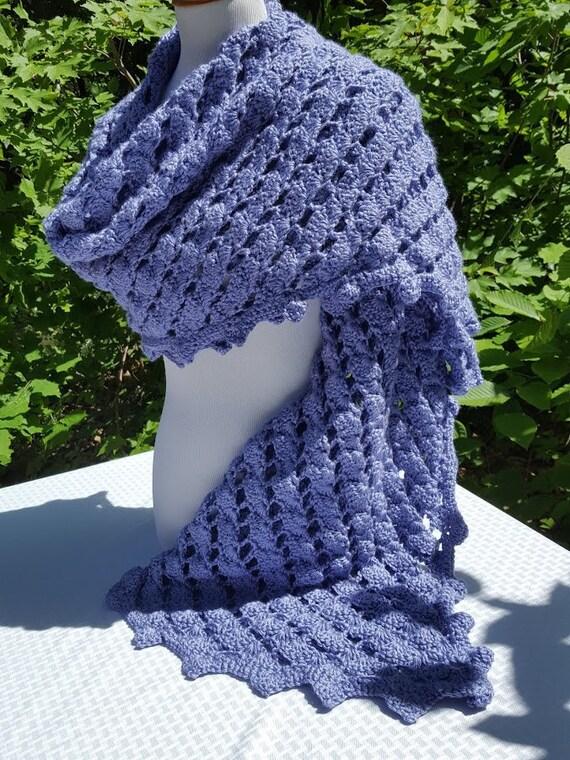 Crochet shawl, wedding shawl, rectangle shawl wrap, bridesmaids wrap, prayer shawl, Mothers Day caplet, bohemian wrap, boho chic shawl
