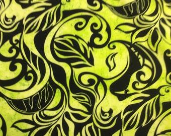 New Hawaiian Print in Poly Cotton  (Yardage Available)