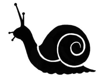 Lavinia EXTRA SMALL Snail Cling Stamp - Snail Stamp - Clear Cling Stamp - Extra Small Snail Silhouette Stamp Set - Snail Stamp Set - 12-105