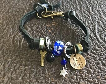 Rose Tyler Doctor Who Inspired Bad Wolf Bracelet
