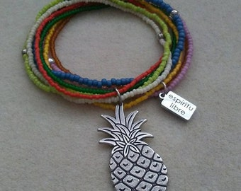 Pineapple Multi Strand Bracelet