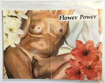 Flower Power A5 print