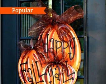 Fall Wreaths, Pumpkin Home Decor, Farmhouse Fall Decor, Rustic Pumpkin Decor, Fall Porch Decor, Fall Home Decor, Rustic Fall Decor