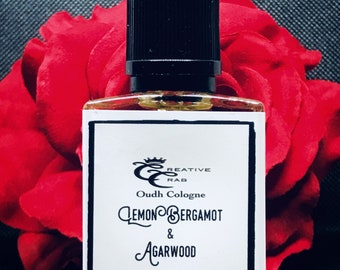 Lemon Bergamot Cologne oil, Oudh, oil colonge