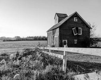 Farmhouse Decor, Barn Photography, Rustic Decor, Farmhouse Photo Print, Rustic Barn Art, Barn Wall Art, Country Landscape Photography